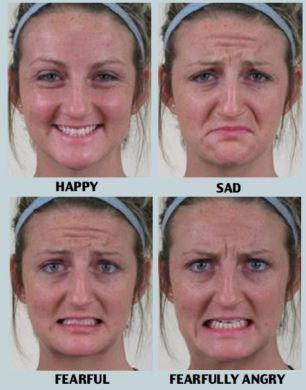 expressions Identifying human facial