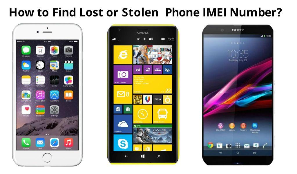 Find Lost Phone Imei Number