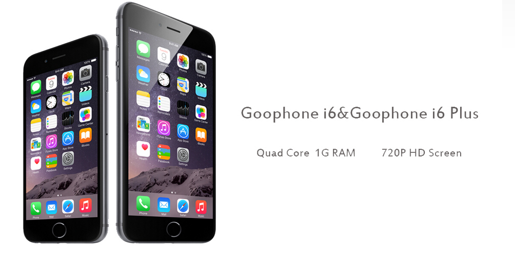 Goophone Launched IPhone 6 Plus And IPhone 6 Replica